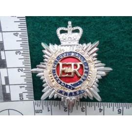 R.N.Z.A.S.C Anodised Cap Badge