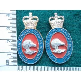 Royal N Z Inf Regt Collars