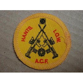 Hants A.C.F I.O.W Brassard Badge