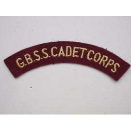 G.B.S.S Cadet Corps