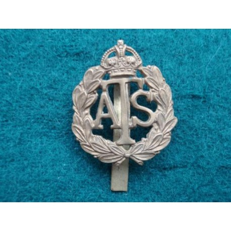 WW2 Brass ATS Cap Badge