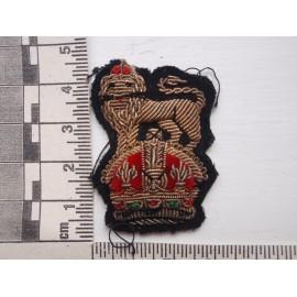 WW2 Brigadiers Bullion Hat/Beret Badge
