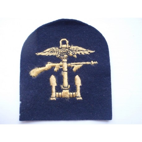 WW2 Combined Operations Economy Issue Sleeve Badge