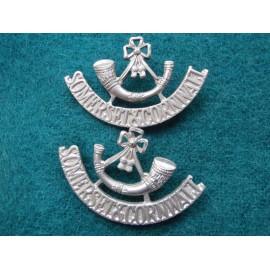 Somerset & Cornwall Light Infantry Shoulder Titles