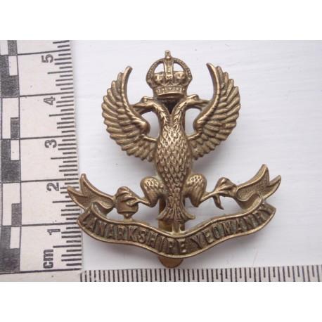 WW1 The Lanarkshire Yeomanry (Lancers) Cap Badge
