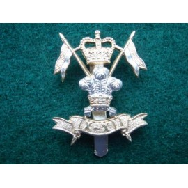 9TH/12TH Royal Lancers Anodised Cap Badge