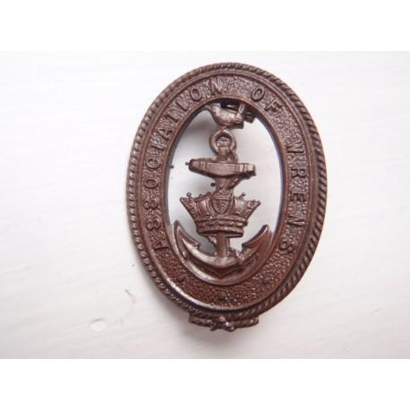WW2 Association of WRENS Lapel Badge
