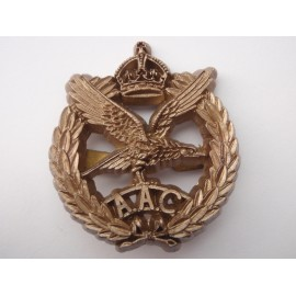 WW2 Army Air Corps Plastic Cap Badge