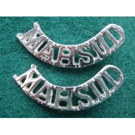 1st MAHSUD Regt Shoulder Titles
