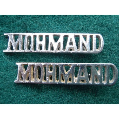 MOHMAND Shoulder Titles (Pakistan Army)