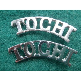 TOCHI Scouts (Frontier Force) Shoulder Titles