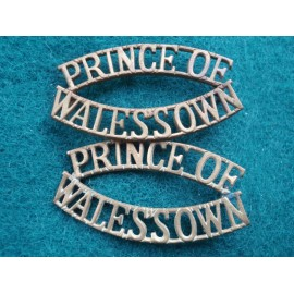 Prince of Wales's Own Shoulder Titles