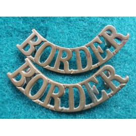 WW1 Border Shoulder Titles