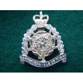 Hampshire & Isle of Wight Territorials Anodised Cap Badge