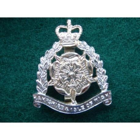 Hampshire & Isle of Wight Territorials Anodised Cap Badge