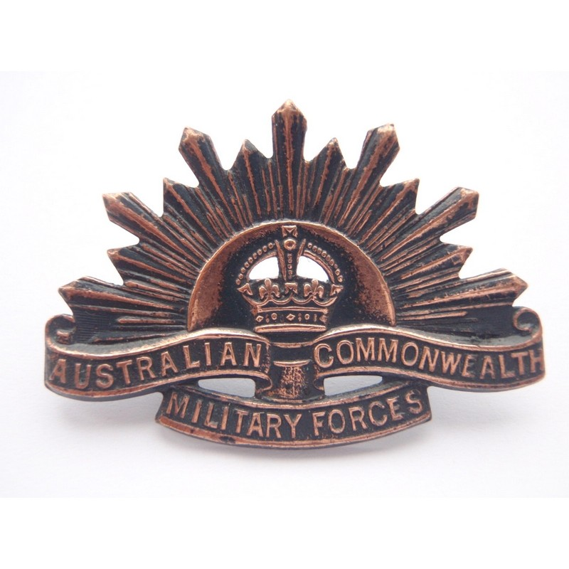 Ww1 2 Rising Sun Collar Badge Gradia Military Insignia