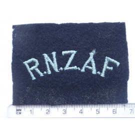 WW2 R.N.Z.A.F Shoulder Title