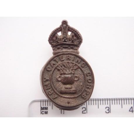WW2 Plastic Economy Army Catering Corps Cap Badge