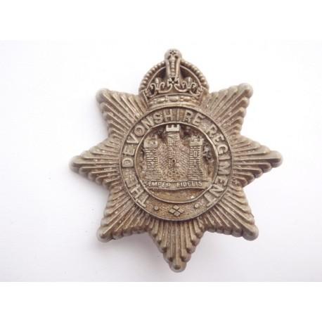 WW2 The Devonshire Regt Cap Badge