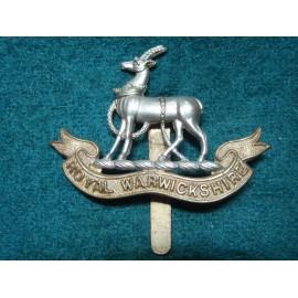 WW1/2 The Royal Warwickshire Regt Cap Badge