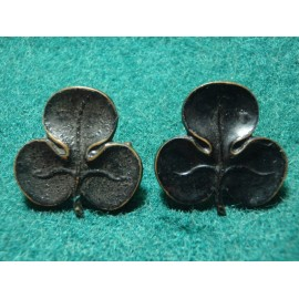 18th County of London Battalion (London Irish Rifles) Collars
