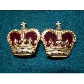 Gilt & Enamel Crowns