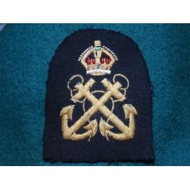 WW2 RN Petty Officers Sleeve Badge