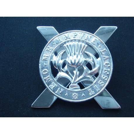 The Lowland Brigade 1959-68 Anodised Cap Badge