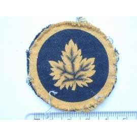 WW2 Canadian Military Headquarters Printed Badge