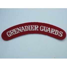 WW2 Grenadier Guards Wool Shoulder Title