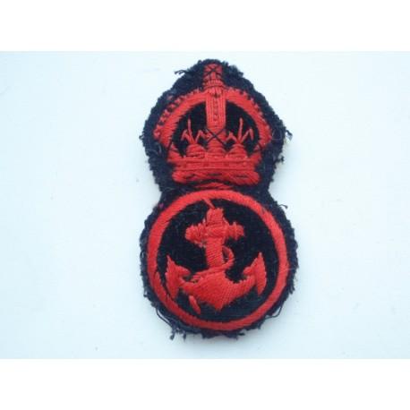 WW1/2 Royal Navy P.O.Cap Badge