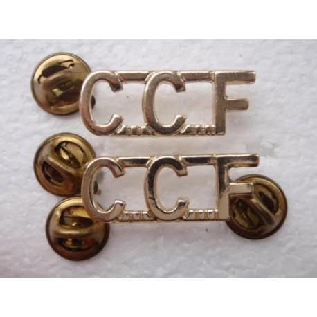 Anodised C.C.F Titles