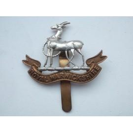 WW2 Royal Warwickshire Cap Badge