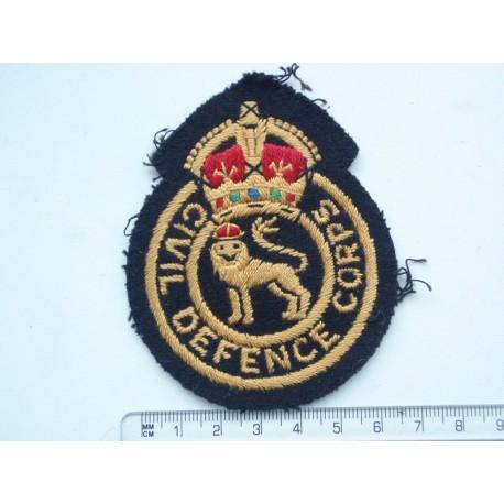 WW2 Civil Defence Corps Breast Badge
