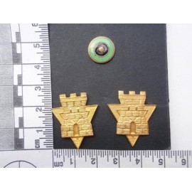 Argentinian Mountain troops Topographical Engineers Insignia