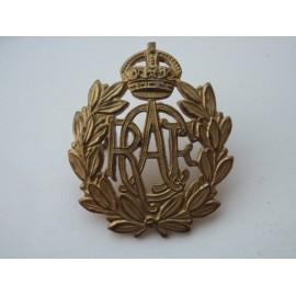WW2 R.C.A.F Brass OR's Cap Badge