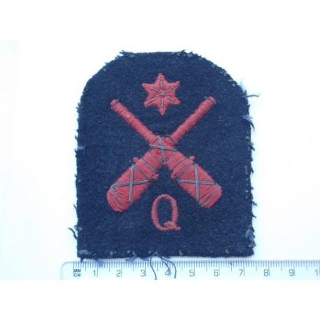 WW1/2 R.N Quarters Rating 1st Class Sleeve Badge