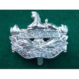 Gloucesteshire Regt Anodised Cap Badge