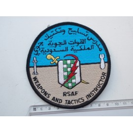 Gulf War era Saudi Arabian Airforce Weapons & Tactics Patch