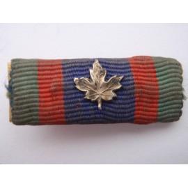 WW2 Canadian Volunteer Service Medal Bar
