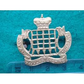 Royal Gloucestershire Hussars Brass Collar