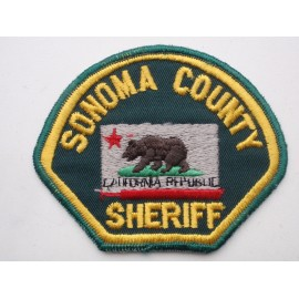 Sonoma County Sheriff Patch