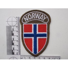 'NORWAY' Sleeve Patch