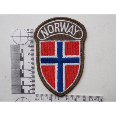 Norway Sleeve Patch Gradia Military Insignia