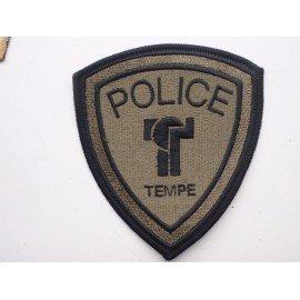 Tempe Police Subdued Patch