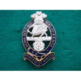 The Princess of Wales's Royal Regt Cap Badge