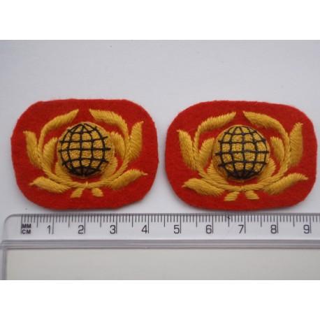 Royal Marines OR's No 1 Dress Collar Badges