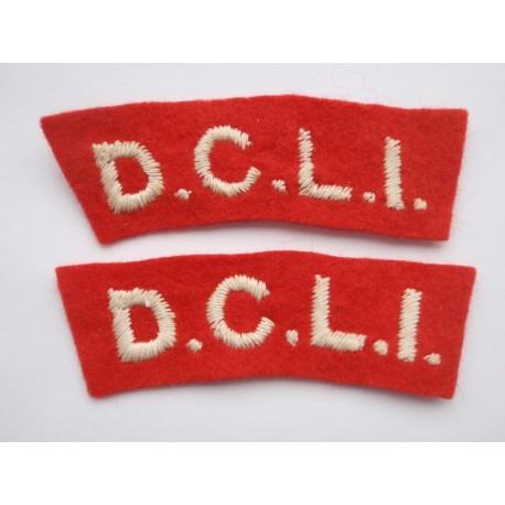 WW2 D.C.L.I Shoulder Titles