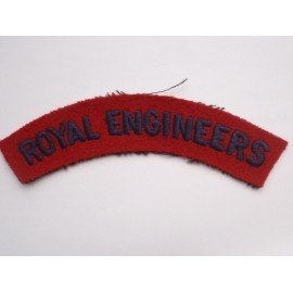 WW2 ROYAL ENGINEERS Shoulder Title