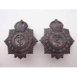 Australian Army Medical Corps Collar Badges
